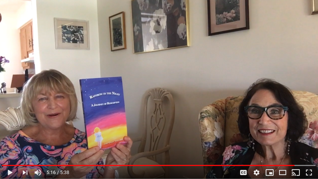 Rainbow_in_the_Night_video_chat_with_Jane_Goldie_Winn_and_Sherry_Heller