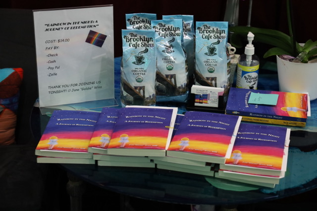 Author, Life Coach Jane Goldie Winn, MSS, book signing event The Brooklyn Cafe (7)